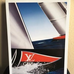Louis Vuitton Cup Poster frame